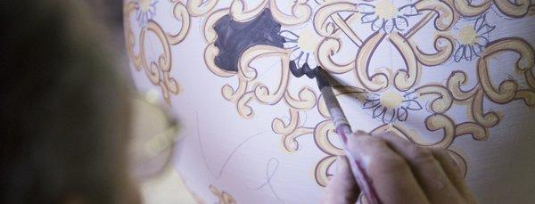 decorazione ceramica vietrese avossa rossoaltramonto